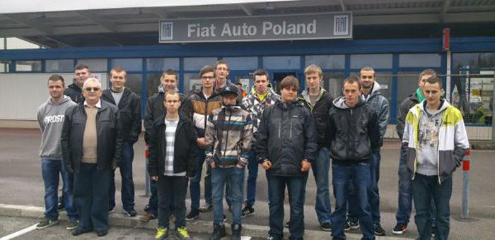 Wycieczka do zakładu Fiat Auto Poland