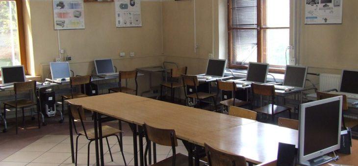 Pracownie komputerowe dla szkół – Projekt EFS