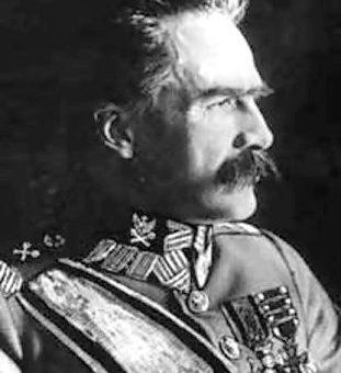 Obchody imienin Pierwszego Marszałka Polski Józefa Piłsudskiego.