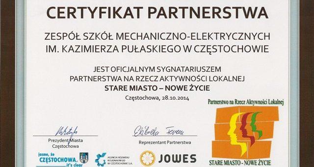 Partnerstwo na Rzecz Aktywności Lokalnej.