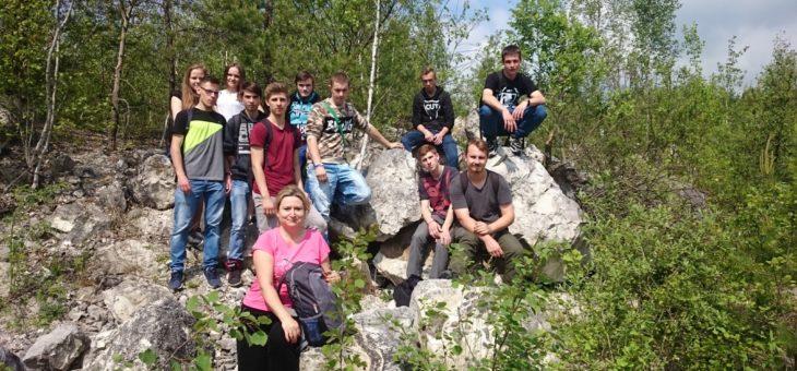 """Warsztaty terenowe w Kamieniołomie """" LIPÓWKA"""""""